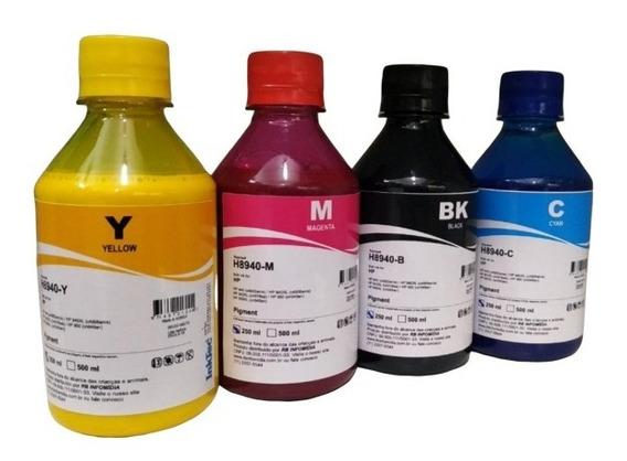 4 X 250ml Tinta Pigmentada Hp Inktec Pro 8600 8610 8620 8720