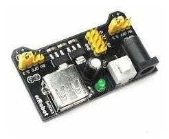 Fonte Ajustável Protoboard 3.3v/5v Para Arduino