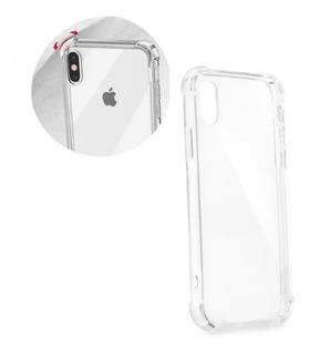 Capa Case Anti Shock + Película De Vidro 3d iPhone X/xs