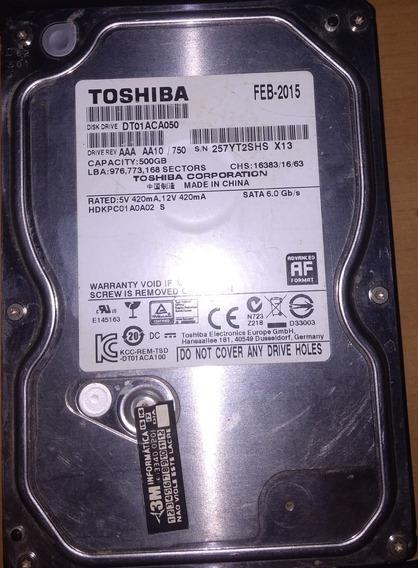 Hd Toshiba 500gb