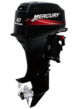 Motor Fuera De Borda Mercury 40 Hp 2 Tiempos C/power Trakker