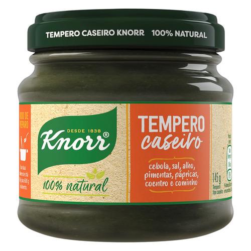 Tempero Caseiro Apimentado Knorr Vidro 145g