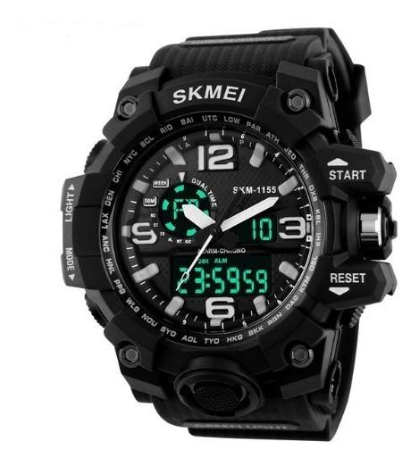 Relógio Masculino Digital Analogico Esportivo Skmei Barato