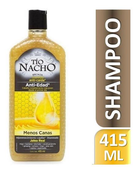 Shampoo Tío Nacho Anti-edad Jalea Real 415ml Genomma Lab