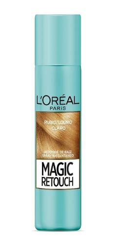 Spray Retocador De Raíz L'oréal Magic Retouch Rubio Claro X