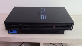 Playstation 2 + Modem Hd 120 + 2 Controles Originais