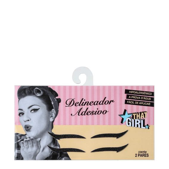 That Girl - Delineador Adesivo (2 Pares) Blz