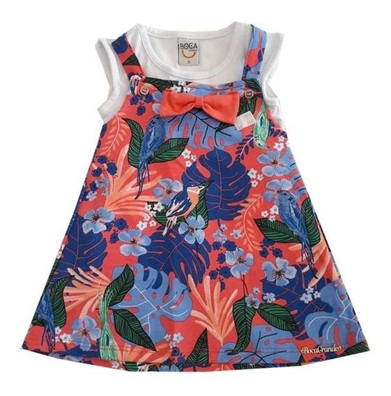 Vestido Feminino Infantil-014562
