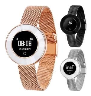 Smartwatch Reloj Mujer X6 Bluetooth Sumergible Deportes Fino