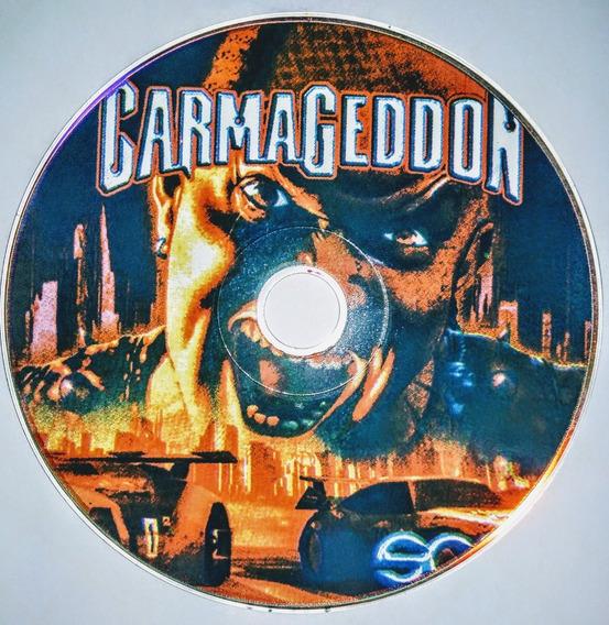 Playstation 1 - Carmagedon Prensado Americano (patch)
