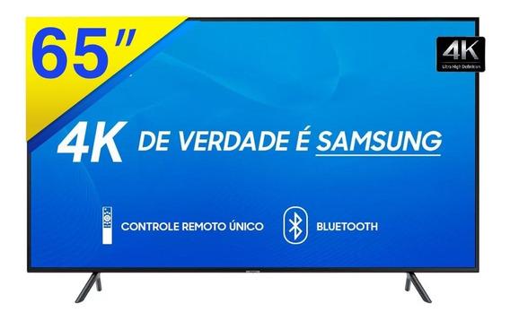 Smart Tv Led 65 Samsung 4k Uhd Com Conversor Digital, Wifi