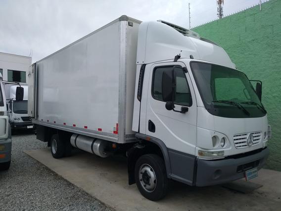 Mercedes-benz 915 Baú Refriger Aceito Troca Carro Caminhão