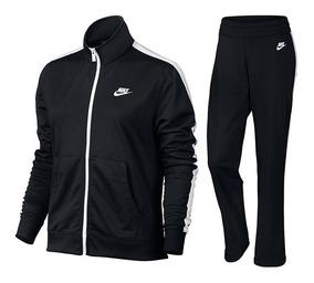 Agasalho Sportswear Track Suit Feminino Preto E Branco 83034
