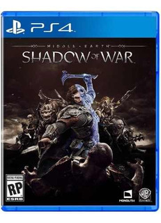 Juego Ps4 Middle Earth Shadow Of War Ps4