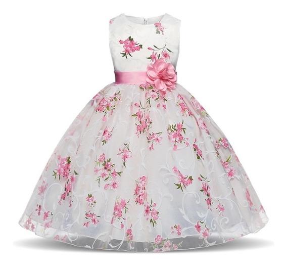 Vestido Elegante Niña, Comunión, Cortejo Ximena Boutique