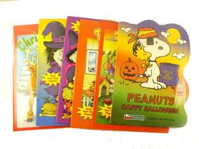 Lote 6 Livro Infantil Desenho Colorir Snoop Halloween B5996
