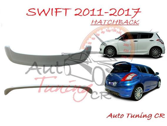 Coleta Spoiler Compuerta Trasera Suzuki Swift 2011-2017 Hb