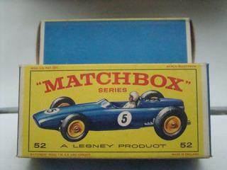 Matchbox Nº52 B.r.m. Racing Car B942