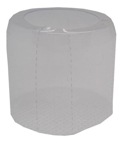 Imagem 1 de 3 de .200 Lacres Incolor Termoencolhível Mini Garrafa 22mm X 25mm