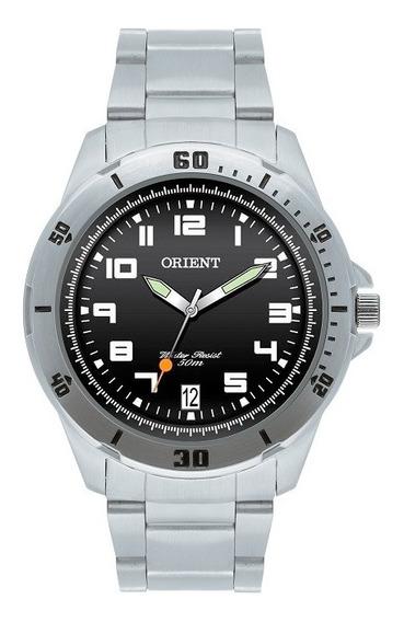 Relógio Orient Masculino Analógico Preto Mbss1155a P2sx