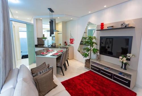 Imagem 1 de 15 de Apartamento Para Venda Em São Bernardo Do Campo, Jardim Olavo Bilac, 2 Dormitórios, 1 Banheiro, 1 Vaga - Japuma