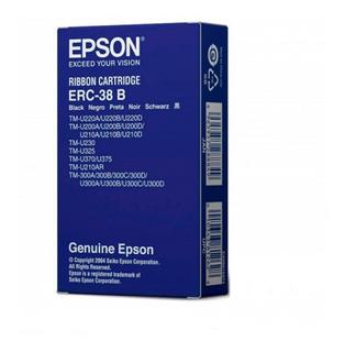 10 Cintas De Tinta Epson Erc 38 B Original