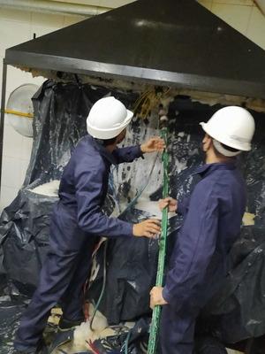 Limpieza De Campanas, Ductos Y Turbinas De Extraccion