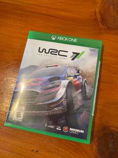 Juego Xbox One Wrc 7 Físico Sin Uso, Impecable