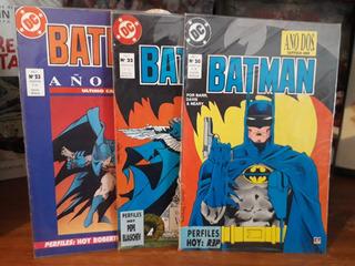 Batman - Año Dos - Dc - Editorial Perfil (3 Números De 4)