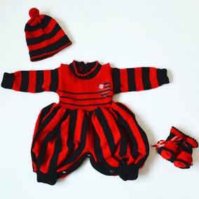 Macacão De Bebê Do Flamengo