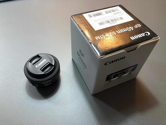 Lente Canon Ef 40 Mm Stm F2.8