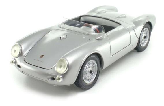 Miniatura Porsche 550 A Spyder Prata Maisto 1/18