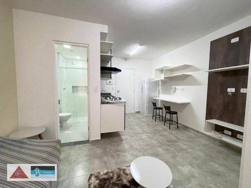 Imagem 1 de 23 de Apartamento Com 1 Dormitório Para Alugar, 35 M² Por R$ 1.800/mês - Tatuapé - São Paulo/sp - Ap6633