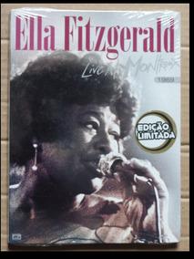 Dvd Ella Fitzgerald - Live At Montreux 1969 Novo Lacrado!!