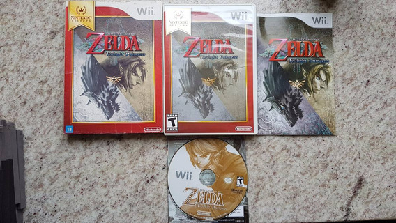 The Legend Of Zelda: Zelda Twilight Princess Wii