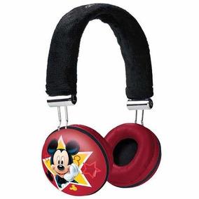 Headphone Infantil Com Fio Mickey Mouse - Disney Original