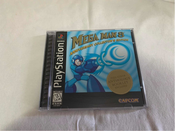 Mega Man 8 Ps1 Americano Original