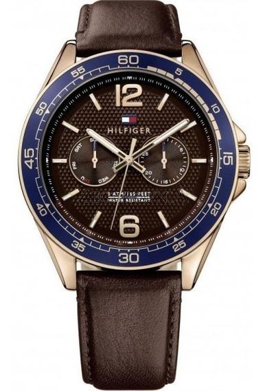 Relógio Tommy Hilfiger Th1791367 Orig Chron Anal Calfskin