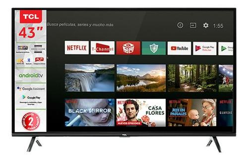 """Imagen 1 de 3 de Smart TV TCL Series A4 43A423 4K 43"""" 110V"""