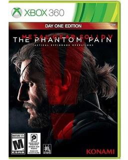 Metal Gear Solid V The Phantom Pain Xbox 360 Fisico Sellado