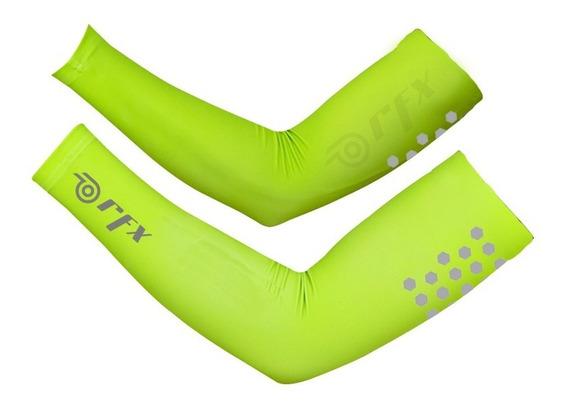 Mangas Deportivas Reflejantes Protección Uv - Dry Fast - Rfx