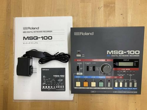 Imagen 1 de 4 de Roland Msq-100 Vintage Midi Grabador De Teclado Digital