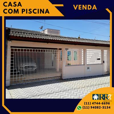 Casa A Venda Em Suzano, 3 Dorm. 1 Suíte, Piscina, 5 Vagas