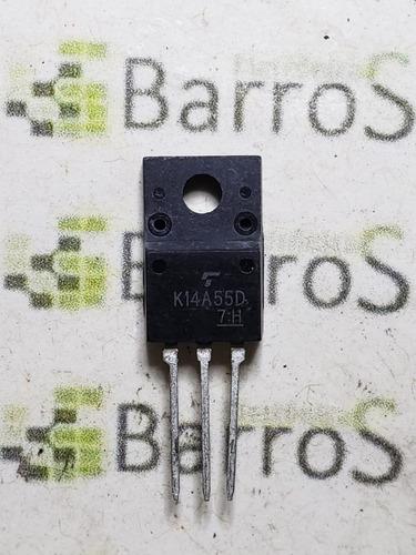 Transistor K14a55d  - Tk14a55d - 550v 14a To220 - Original