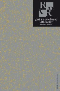 Qué Es Un Género Literario?, Jean-marie Schaeffer, Ed. Akal