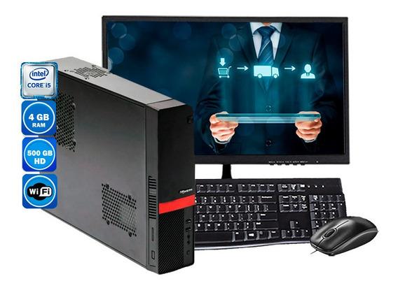 Computador Completo Slim Intel Core I5 4gb Hd 500gb 110v