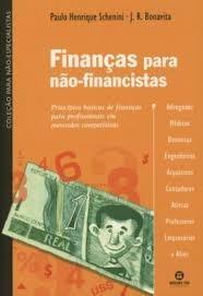 Finanças Para Não-financistas Schenini, Paulo H.