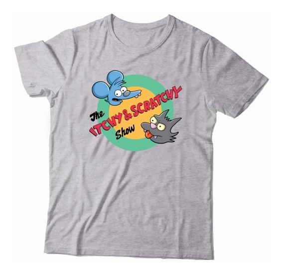 Remeras Algodón Los Simpson - Serigrafía Dtg