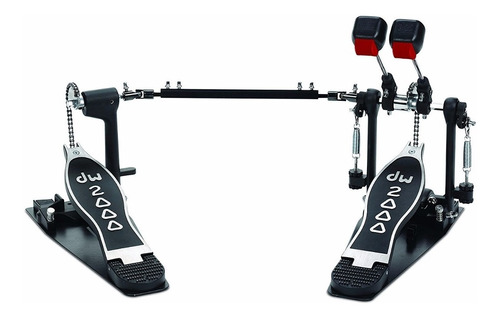 Pedal De Bombo Dw Doble Mazo Dw Cp-2002 Serie 2000