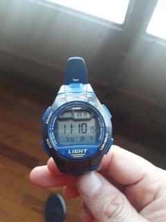 Reloj Casio W-734 Hombre Digital Original Sin Caja Impecable